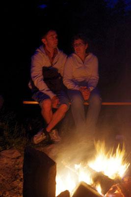 Stefan und Katrin ... (Fotos von Mandy)