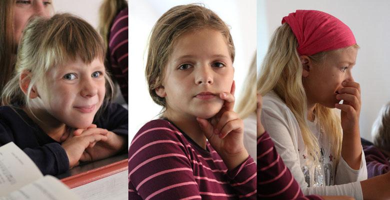 Ruth, Margarete, Emmelie