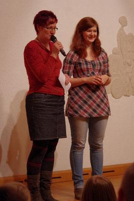 Organisatoren Katrin und Melanie