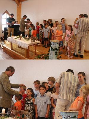 Segnung unserer Kinder