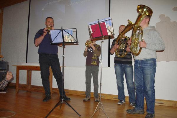 2. Advent 2012 ... Lukas, Steffen, Carsten und Ralf