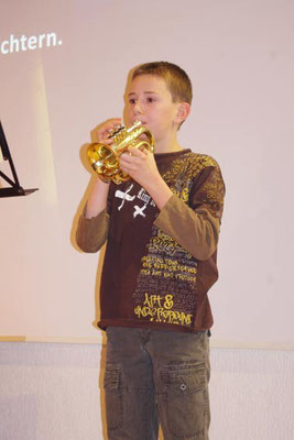 """2. Advent 2012 - Lukas ... mit dem Stück  """"Wir sagen euch an ..."""""""