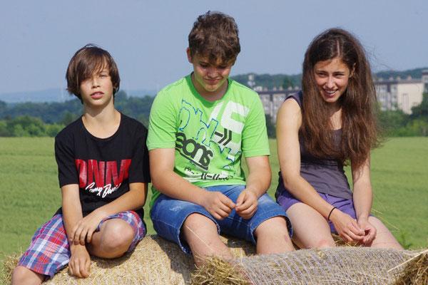 Noah, Karl und Josephine
