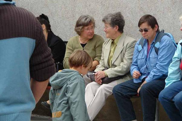 Heidi, Gertraud und Waltraud