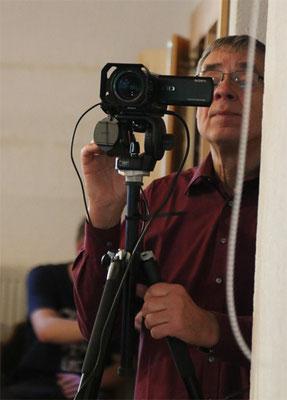 Videoübertragung für die ganz kleinen Kinder und deren Eltern ... Danke Dieter!