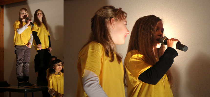 """... die Engel (Tabitha und Jael) """"Hey ihr da!"""" ... """"Macht euch mal geschmeidig ..."""""""