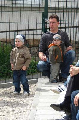 Manuel, Erik und Florian