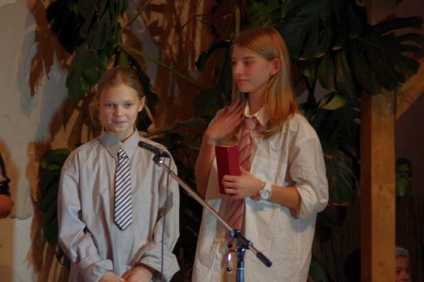 die Schriftgelehrten (Abigail und Johanna)