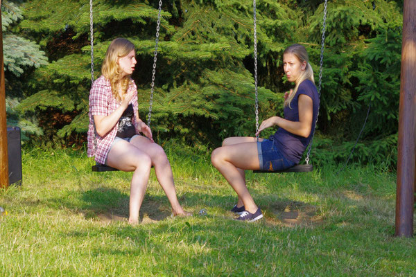 Jenny und Saskia