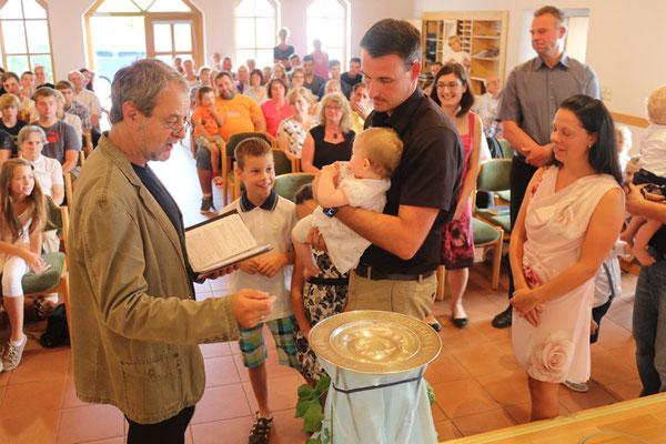 Taufe von Lina