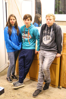 Alexandra, Noah und Tim