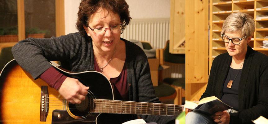 musikalische Begleitung durch Katrin, Katrin
