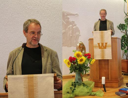 Predigt von unserem Gemeinschaftspastor Bernd