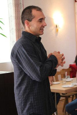 Gebet vor dem Kaffeetrinken: Matthias