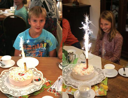 Samuel und Lena - unsere Geburtstagskinder