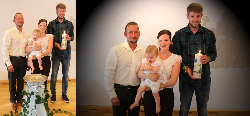 Linas Paten: Silas, Hannah und Samuel