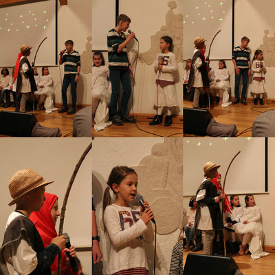 Tabitha und Jonas als Maria und Joseph