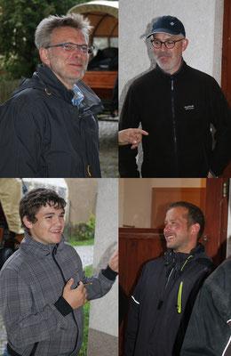 Peter, Stephan, Karl und Silas