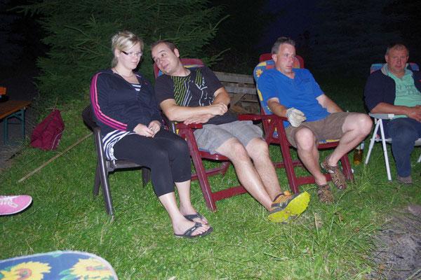 Anne, Andreas und Jan