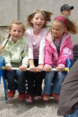 Lena, Johanna und Abigail