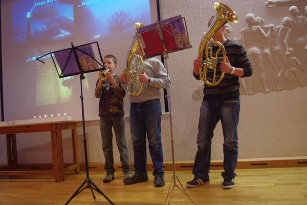 2. Advent 2012 --- Lukas, Steffen und Carsten
