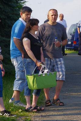 Frank, Regine und Tobias