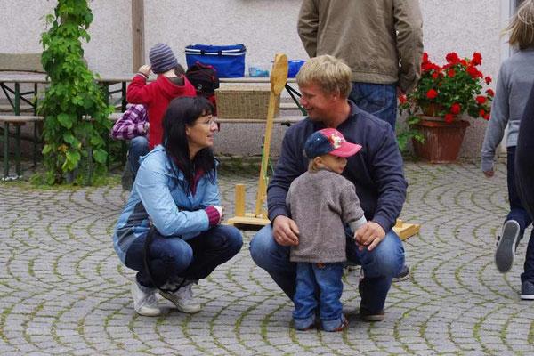 Annette, Heiko und Anton