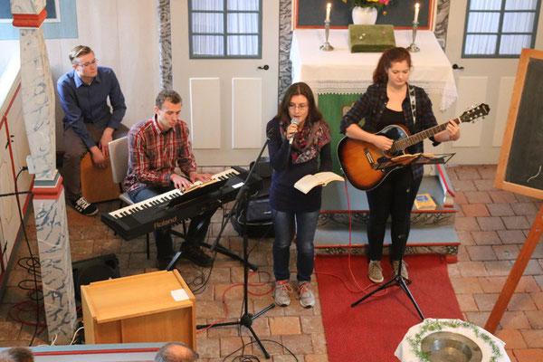 Gottesdienst - Beginn mit Musik