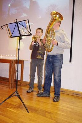 2. Advent 2012 ... Lukas und Steffen