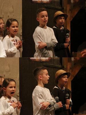 Kylie, Florian und Jonas
