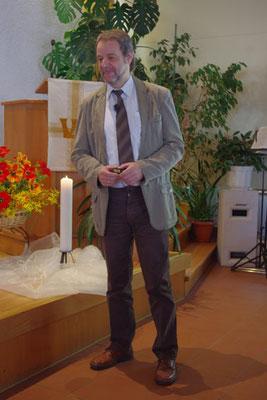 Unser Prediger Bernd ...