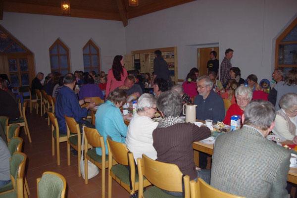 2. Advent 2012 - Kaffee- und Stollenzeit