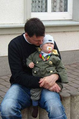 Frank mit Jonas