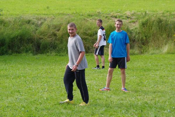 Steffen, Timon, Hans