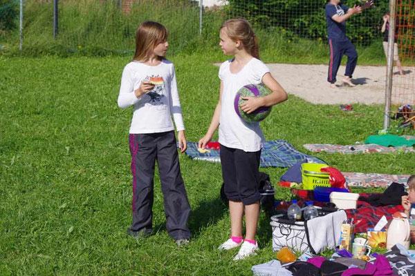 Lena und Abigail