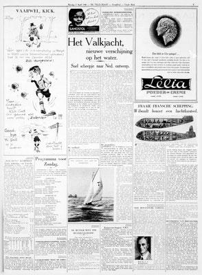 krantenartikel uit 1940