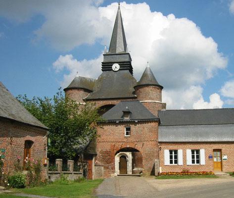 une église fortifiée de Thiérache