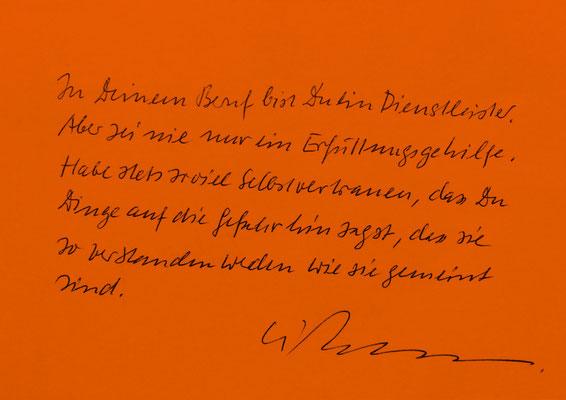 Weise Worte (Kurt Weidemann)