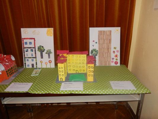 Wohnhaus in Wien, Elderschhof und DC Tower