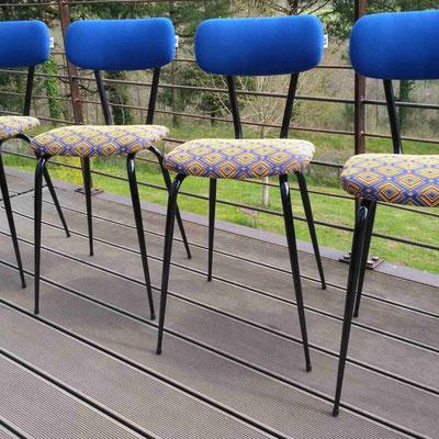 Chaises de cuisine 1970 © Marlène Vidal