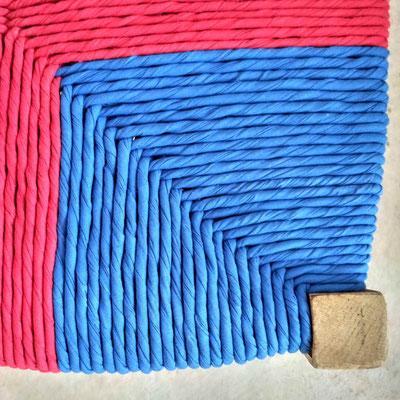 Torons de coton tissé © Marlène Vidal