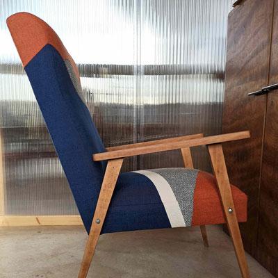 Une création textile qui en fait une pièce unique © Marlène Vidal