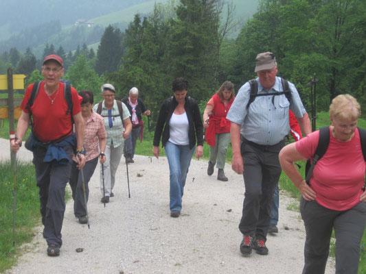 mit Wanderleiter Peter