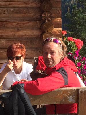 mit Bergführer Walter