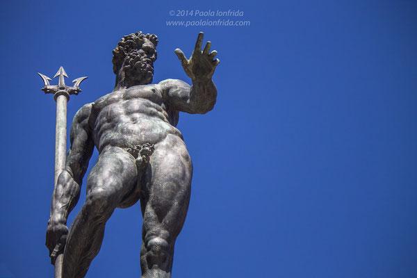 Particolare della Fontana del Nettuno - Bologna