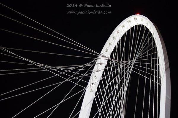 Ponte di Calatrava - Reggio Emilia (veduta 1)