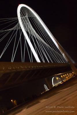 Ponte di Calatrava - Reggio Emilia (veduta 3)