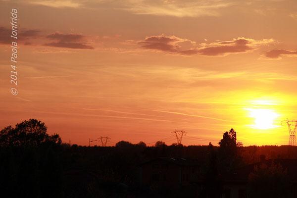 Caldo tramonto