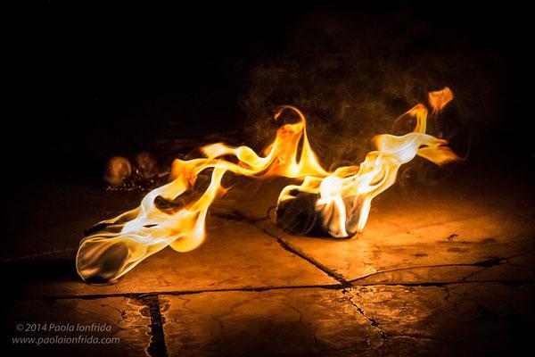 Il calore del fuoco