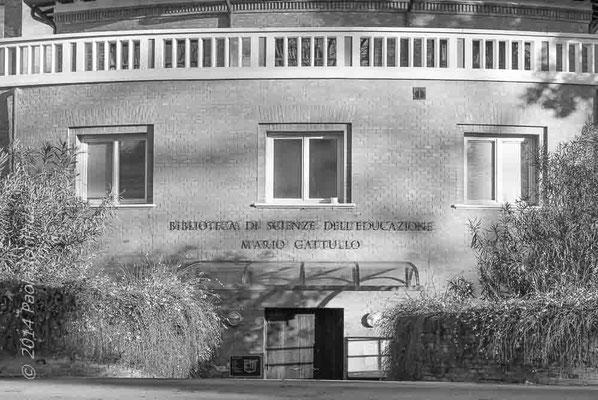 """Biblioteca """"Mario Gattullo"""" c/o Dipartimento di Scienze dell'Educazione """"Giovanni Maria Bertin"""" - Bologna"""